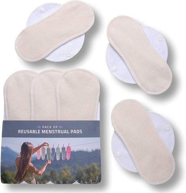 Natissy Organic Cotton Reusable Sanitary Pads 1