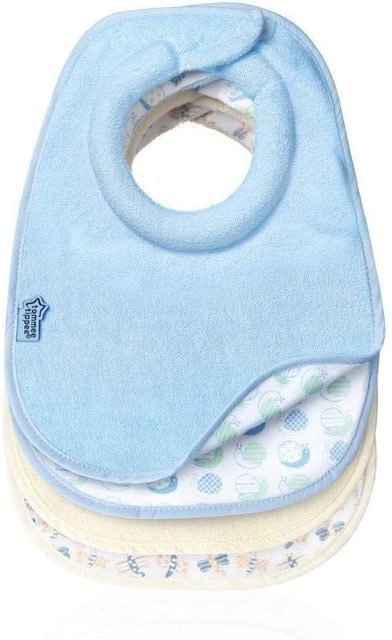 Tommee Tippee Closer to Nature Dribble Catcher Feeding Bibs 1