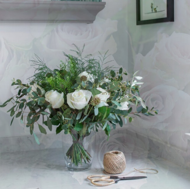 Stems by Tineke Roses & Foliage by Letterbox 1