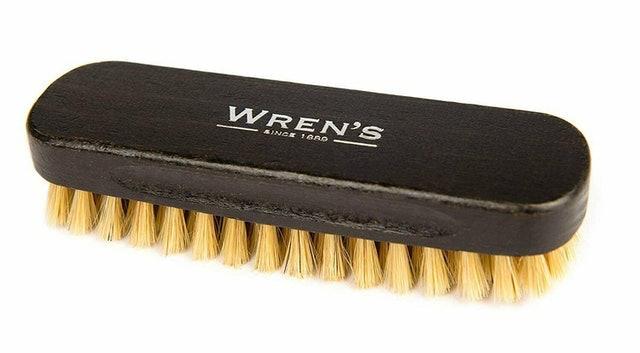 Wren's Pig Bristle Shoe Brush 1