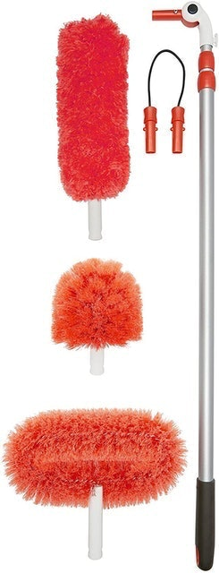 OXO Good Grips Long Reach Dusting System With Pivoting Heads 1