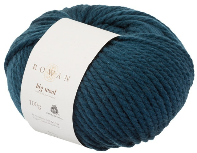 Rowan Big Wool Super Chunky Merino Yarn 1