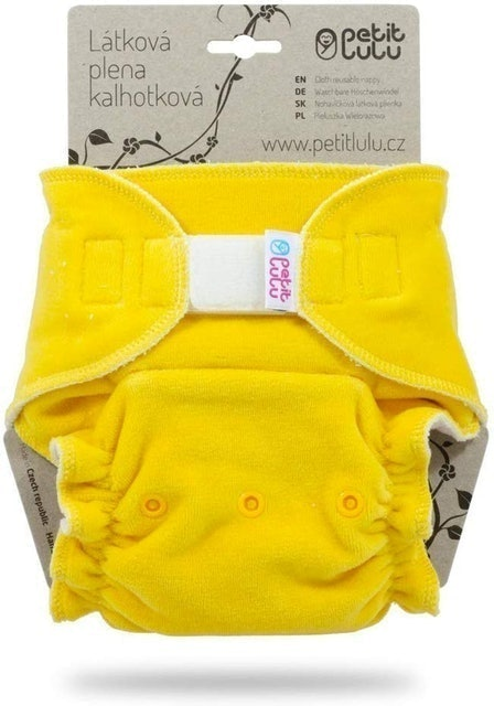 Petit Lulu Bamboo Fitted Maxi-Night Diaper 1