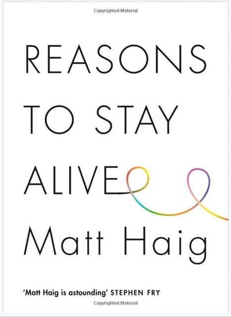 Matt Haig Reasons to Stay Alive  1