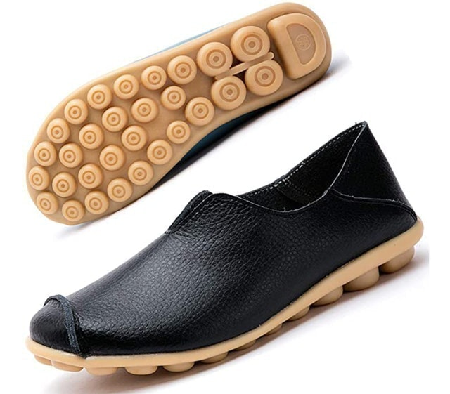 Gaatpot Leather Moccasin Slip On Driving Shoes 1
