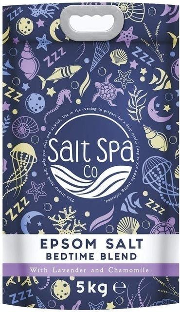 Salt Spa Co Epsom Salt Bedtime Blend with Lavender and Chamomile  1