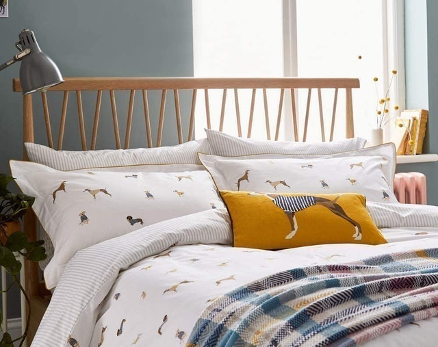 Joules Dogs Duvet Cover and Matching Oxford Pillowcases 1