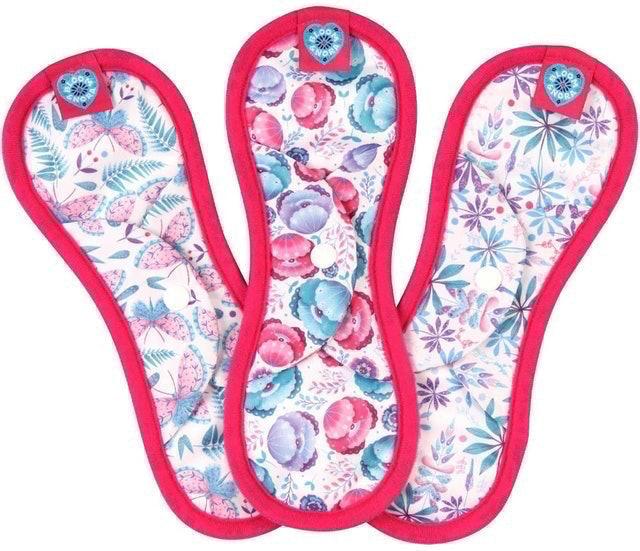 Bloom & Nora Midi Reusable Cloth Sanitary Pads 1