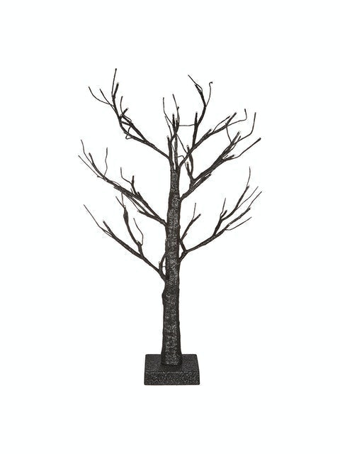 John Lewis and Partners Pre-Lit Black Tree 1
