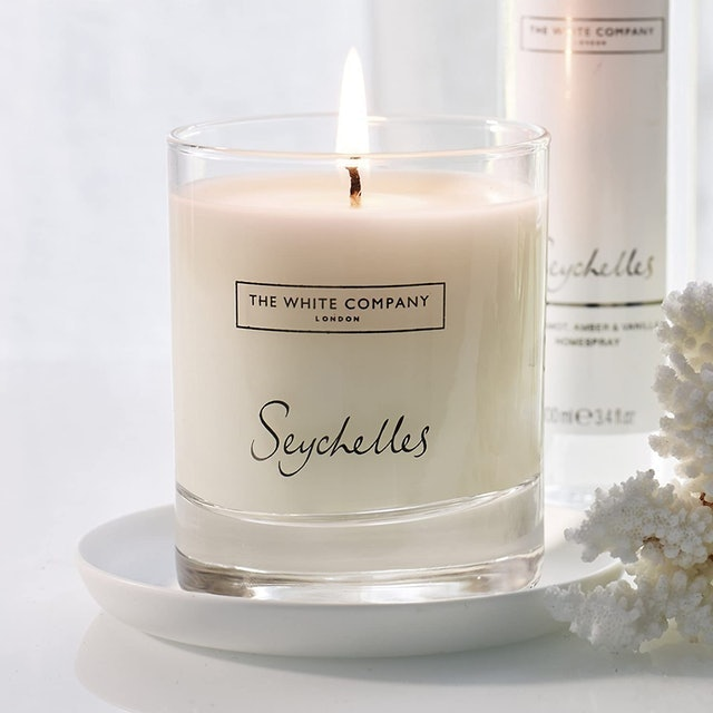 The White Company Seychelles Signature Candle 1