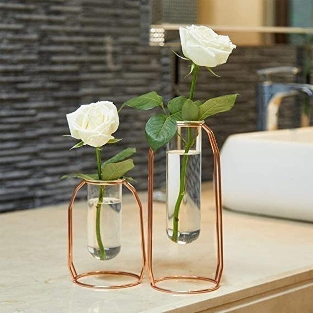 PuTwo Glass Flower Vases 1