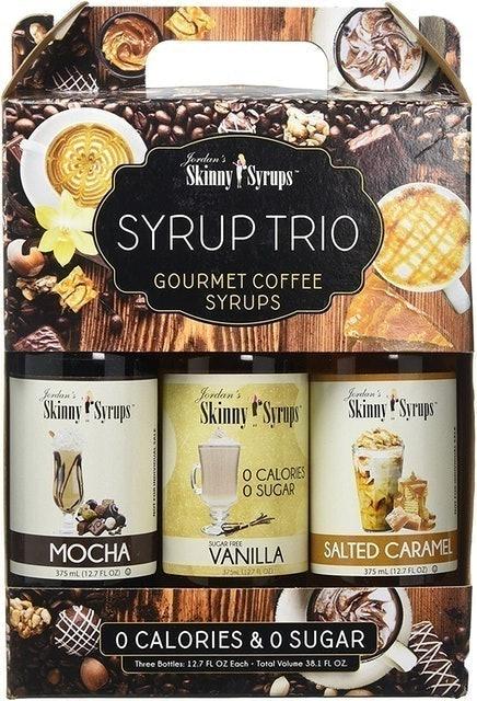 Jordan's Skinny Syrups Sugar Free Gourmet Syrup Set 1