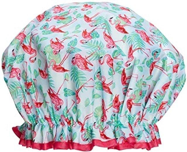 Bodylife Flamenco Flamingo Shower Cap 1