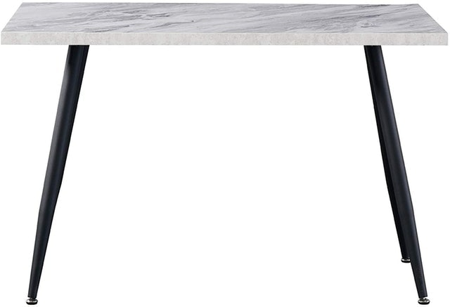 AINPECCA Dining Table With Metal Legs  1