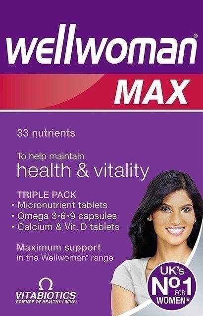 Vitabiotics  Wellwoman Max 1