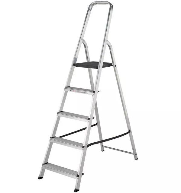 ABRU 5 Tread High Handrail Step Ladder 1