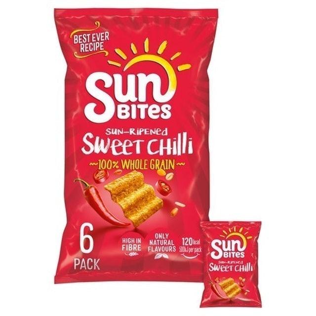 Walkers Sunbites Sun Ripened Sweet Chilli  1