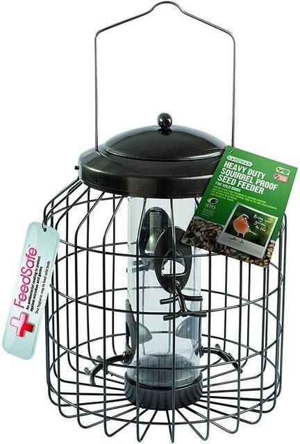 Gardman  Heavy Duty Squirrel Proof Seed Bird Feeder 1