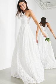 Top 10 Best Wedding Dresses Under £500 in the UK 2021 (ASOS, Monsoon and More) 1