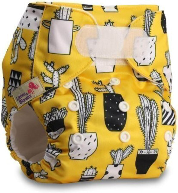 Littles & Bloomz Reusable Pocket Cloth Nappy 1