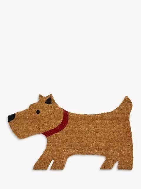 John Lewis & Partners Lewis The Scottie Dog Door Mat 1