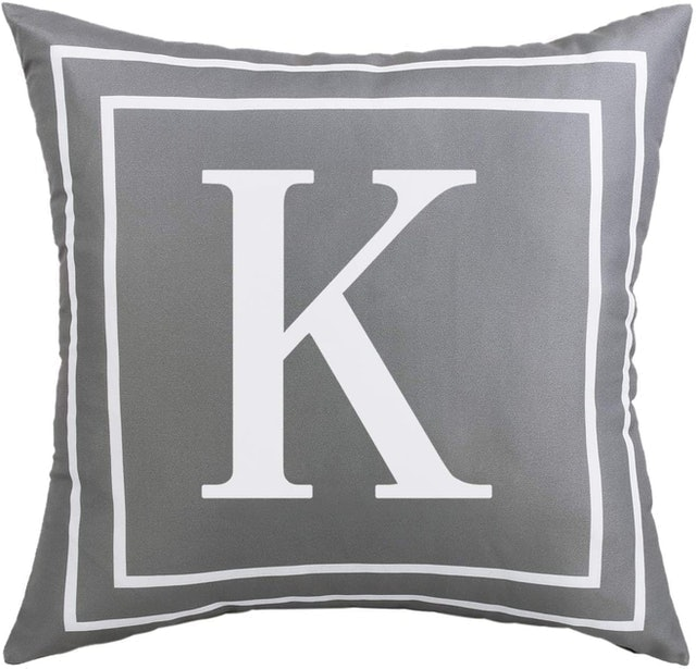 Yastouay Alphabet Letter Cushion  1