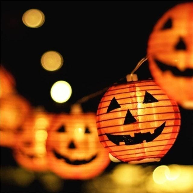 Makion Halloween Pumpkin Lights 1