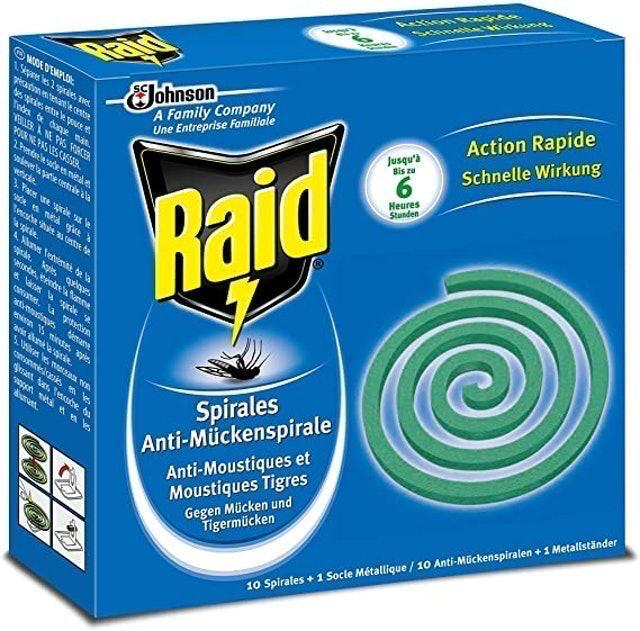 Raid Anti Mosquito Repellent Coils 1