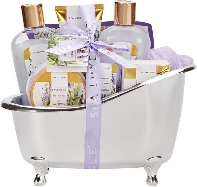 Spa Luxetique Lavender Spa Gift Set 1