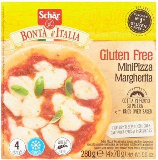 Schär  Bonta d'Italia Gluten Free Mini Margherita Pizzas 1