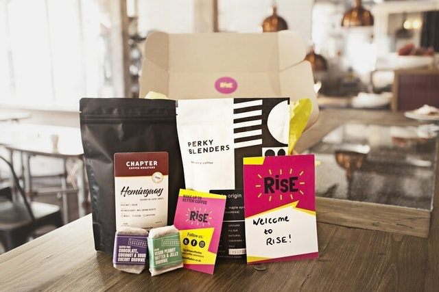 Rise Coffee Monthly Subscription Box 1