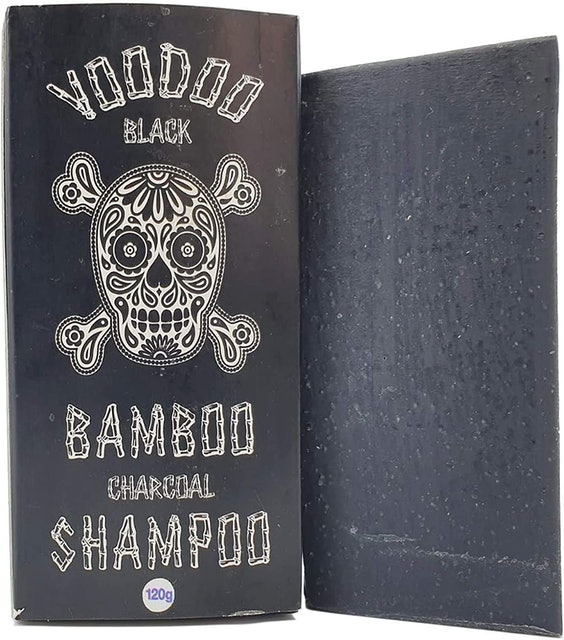 Beauty and the Bees Voodoo Black Bamboo Charcoal Shampoo Bar 1