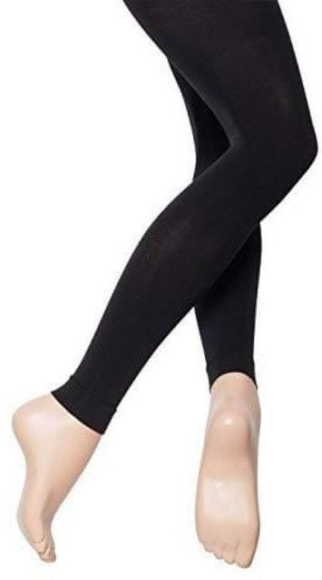 Katz  Dancewear Footless Ballet Tights 1