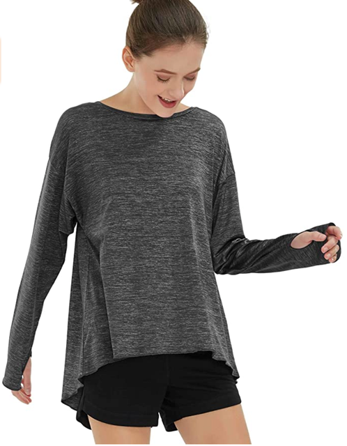 Special Magic Women's Long-Sleeve Gym, Yoga & Running Top 1