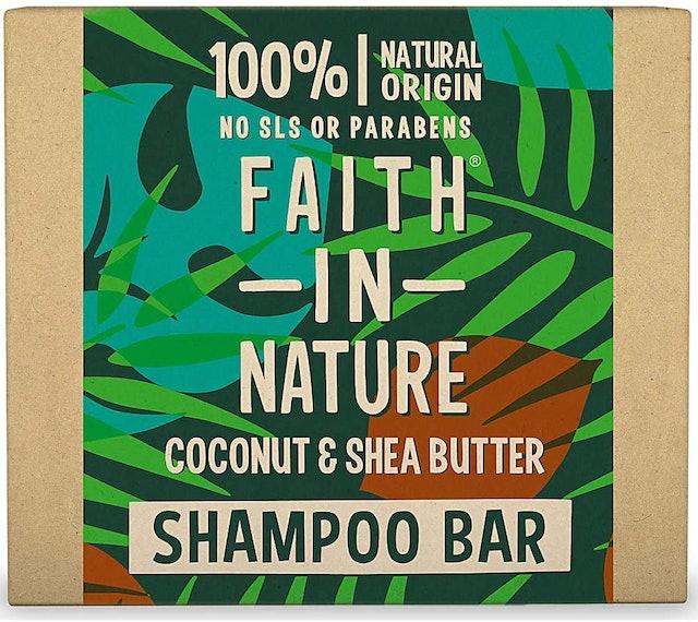 Faith in Nature Coconut & Shea Butter Shampoo Bar 1