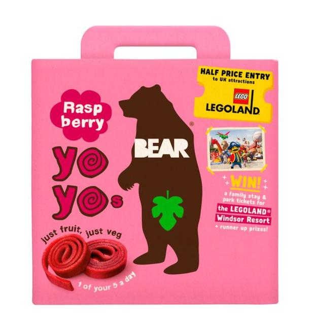 Bear Pure Fruit Yoyo Raspberry 1