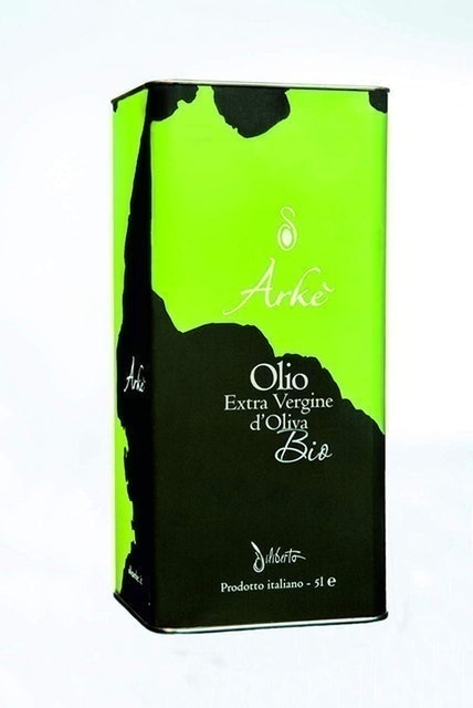 Arkè Organic Extra Virgin Olive Oil From Farm Can 1