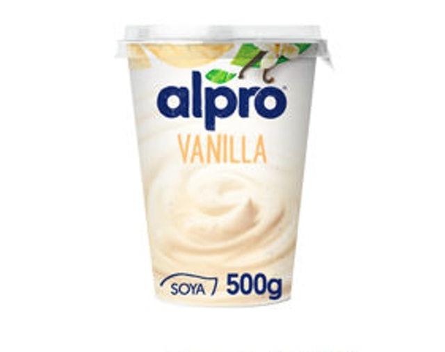 Alpro Vanilla Soya Yogurt Alternative  1