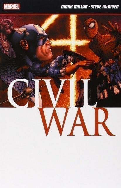 Mark Millar and Steve McNiven Civil War 1