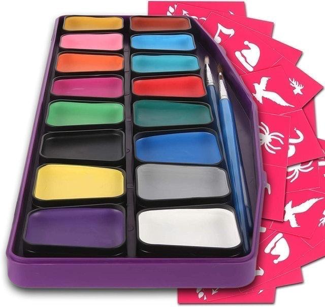 Colorful Art Co. Professional Face Paint Set for Kids 1