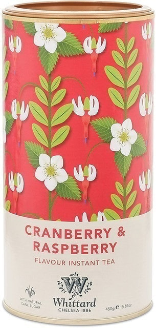 Whittard Cranberry and Raspberry Flavour Instant Tea 1