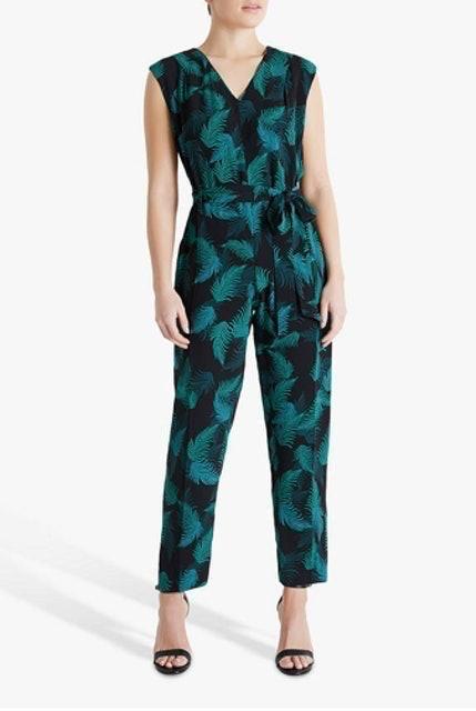 Fenn Wright Manson Claudie Floral Jumpsuit, Jungle Palm 1