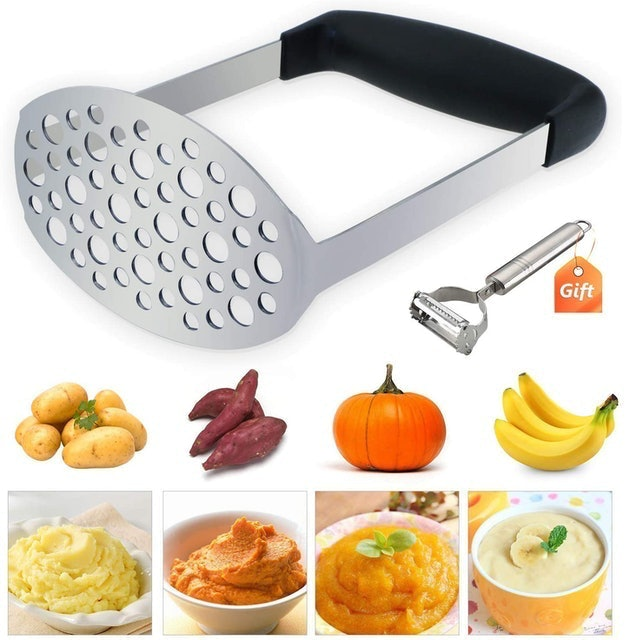 Tedgem Stainless Steel Potato Masher 1