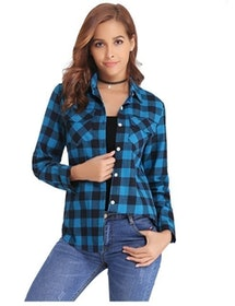 Top 10 Best Flannel Shirts for Women in the UK 2021 (Missguided and More) 2