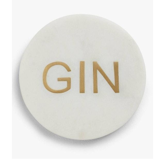 John Lewis & Partners  Gin Marble Coaster 1