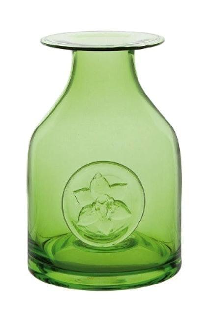 Dartington Crystal Lily Flower Bottle Vase 1