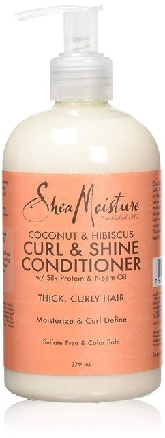 Shea Moisture  Coconut and Hibiscus Curl and Shine Conditioner 1