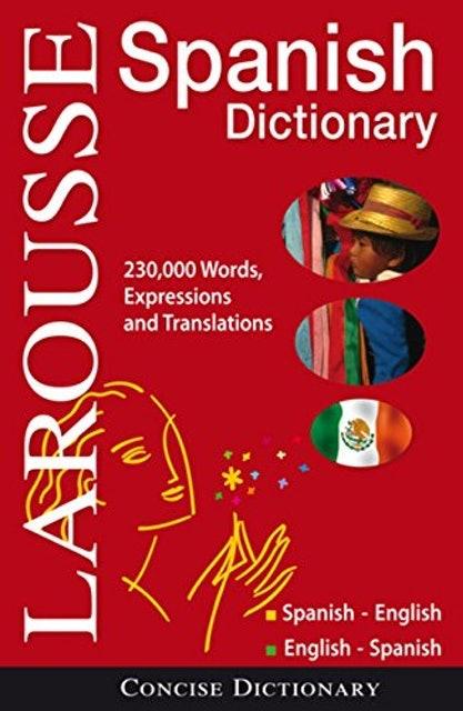 Larousse Concise Spanish-English Dictionary 1