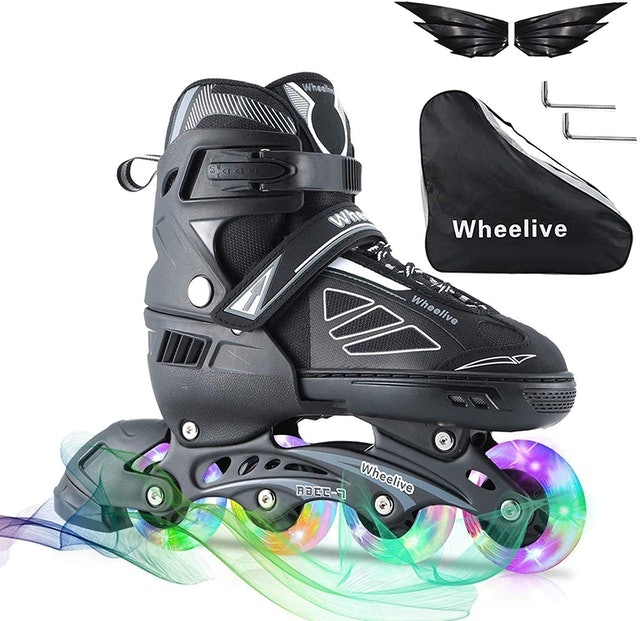 Wheelive Adjustable Inline Skates 1