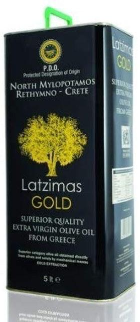 Latzimas Gold Extra Virgin Olive Oil PDO North Mylopotamos 1